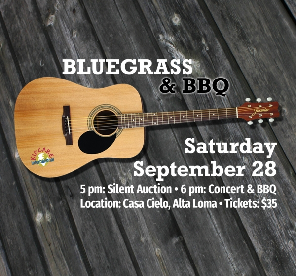 Bluegrass & BBQ Benefit - September 28