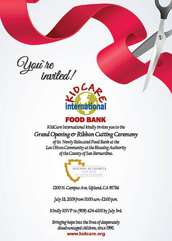 Food Bank Grand Opening 7/18